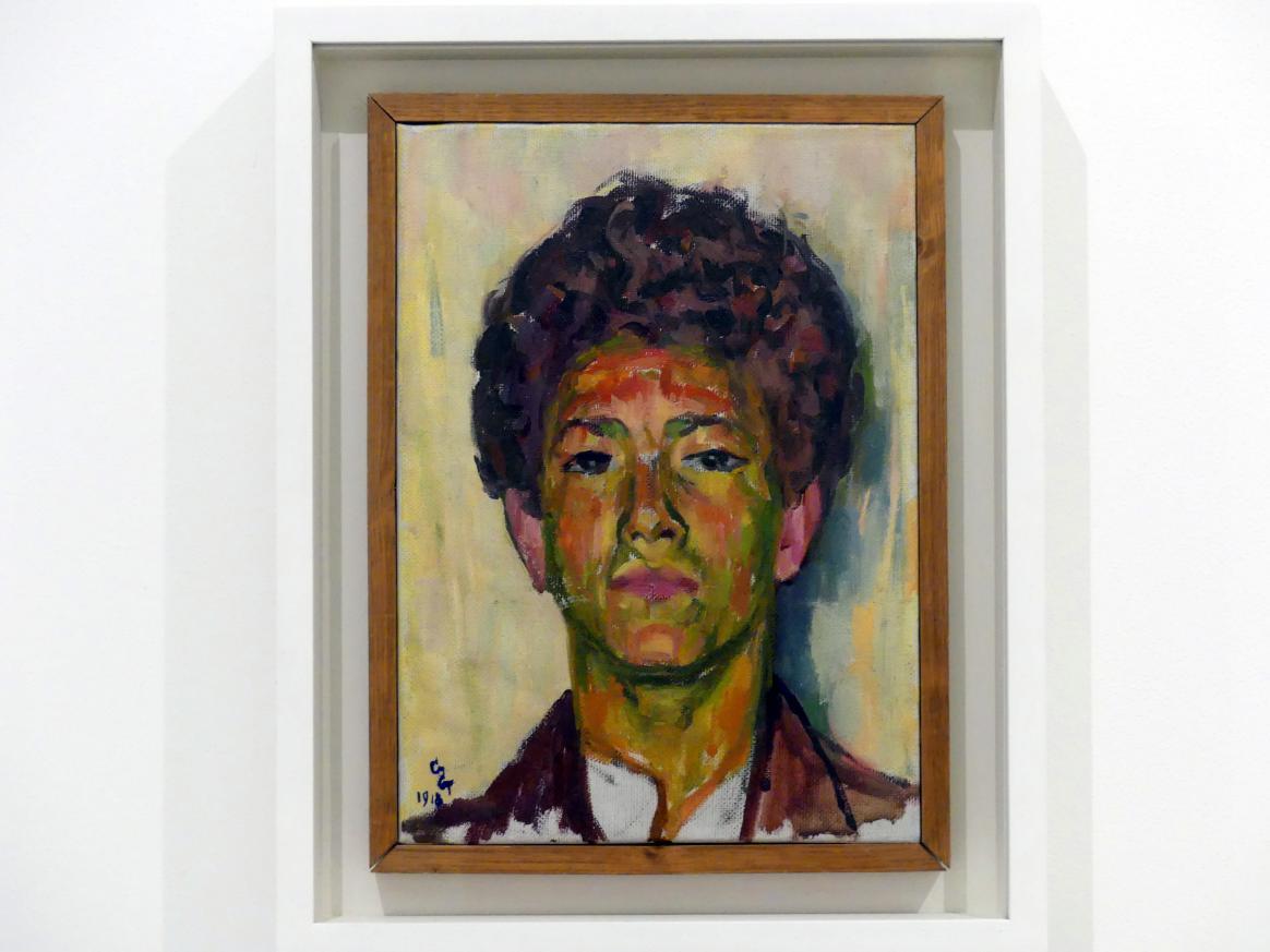Giovanni Giacometti: Alberto Giacometti, 1918