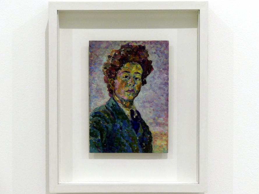Alberto Giacometti: Selbstporträt, um 1917