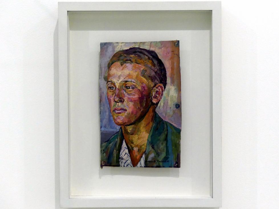 Alberto Giacometti: Bildnis eines jungen Mannes (Bruno Giacometti), 1920 - 1922