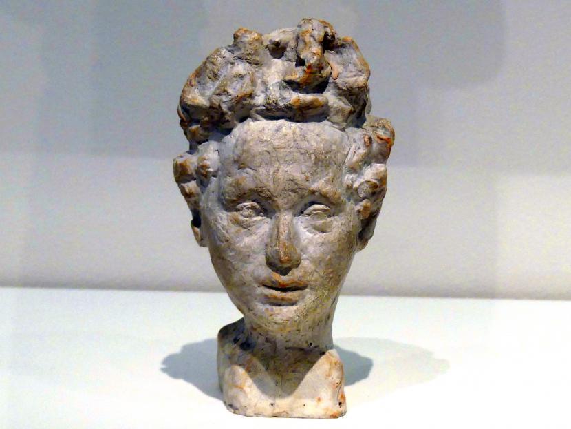 Alberto Giacometti: Büste Diego Giacometti als Kind, 1914 - 1915