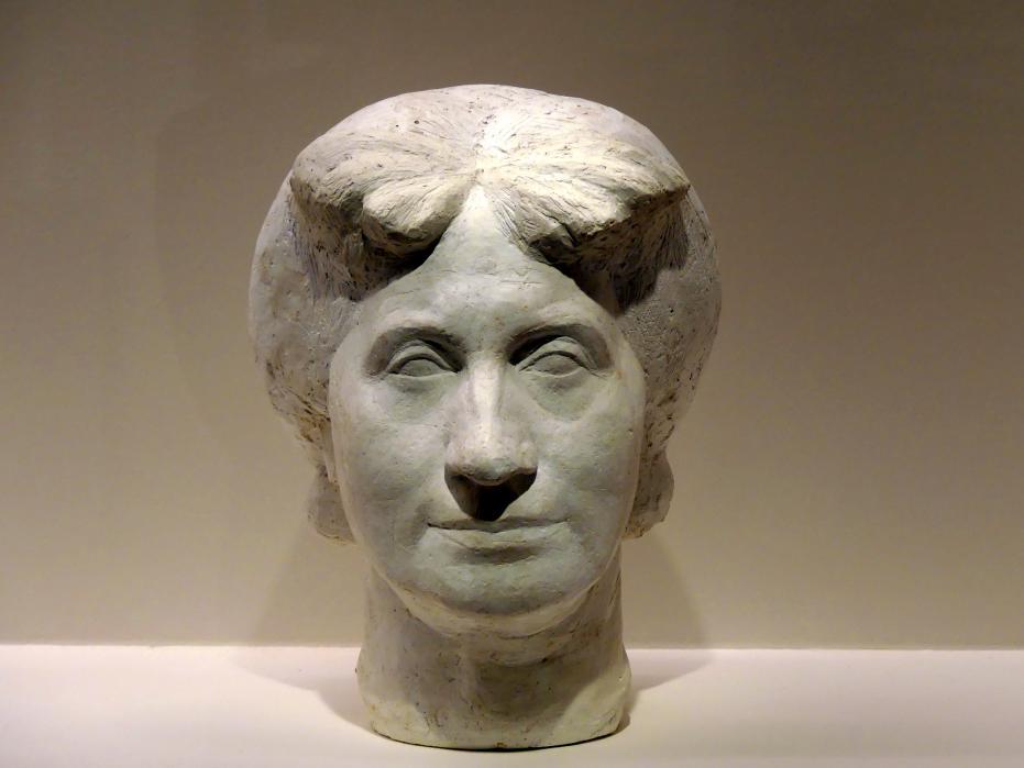 Alberto Giacometti: Große Büste der Mutter, 1925