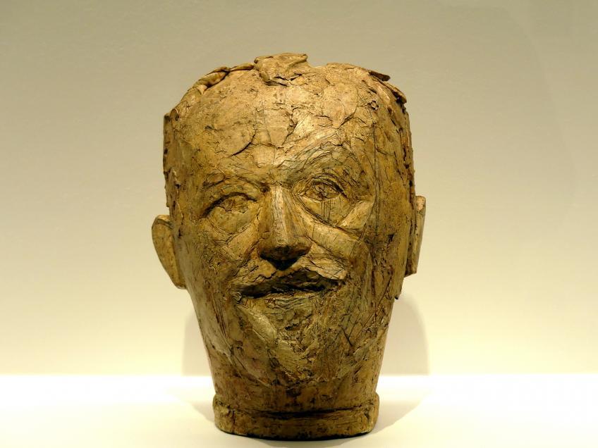 Alberto Giacometti: Büste des Vaters (Rund II), 1927 - 1930