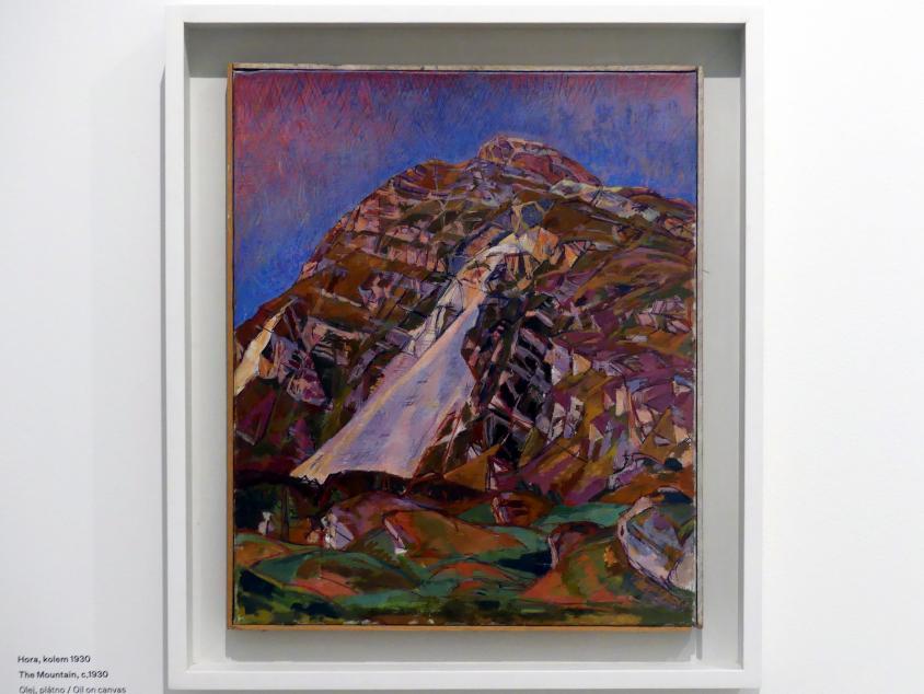 Alberto Giacometti: Der Berg, um 1930