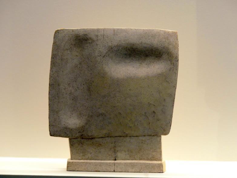 Alberto Giacometti: Blickender Kopf, 1929