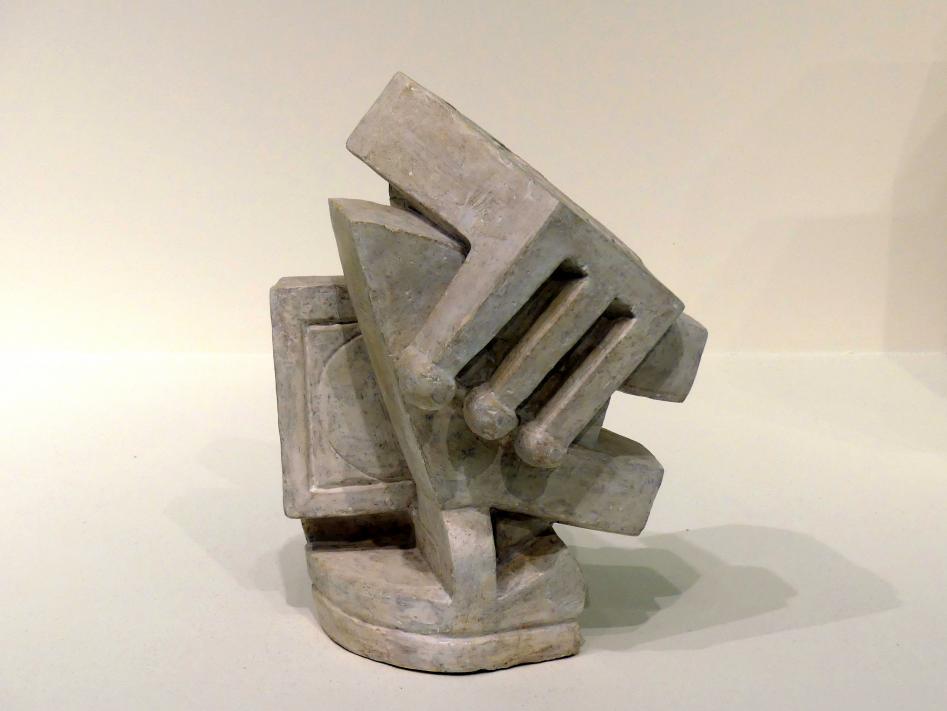 "Alberto Giacometti: Komposition (""Kubist II""), um 1927"