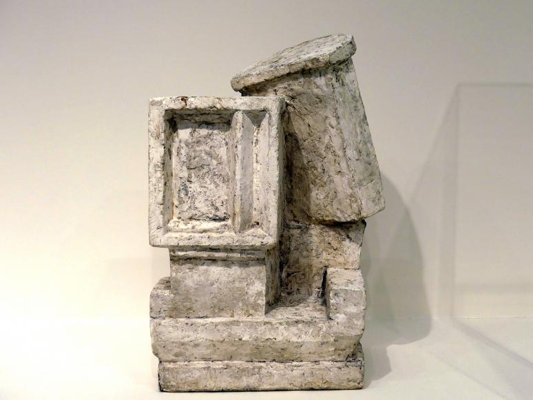 "Alberto Giacometti: Komposition (""Kubist I, Paar""), 1926 - 1927"