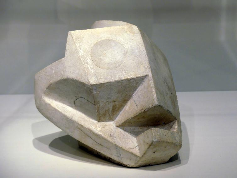 Alberto Giacometti: Kopf-Schädel, 1934