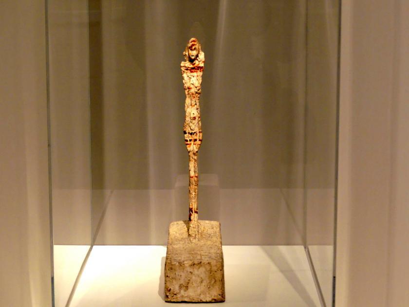 Alberto Giacometti: Kleine Figur auf einem Podest, um 1955