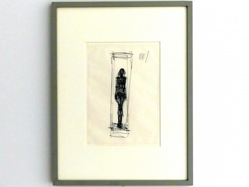 Alberto Giacometti: Stehende Frau im Käfig, 1954 - 1955