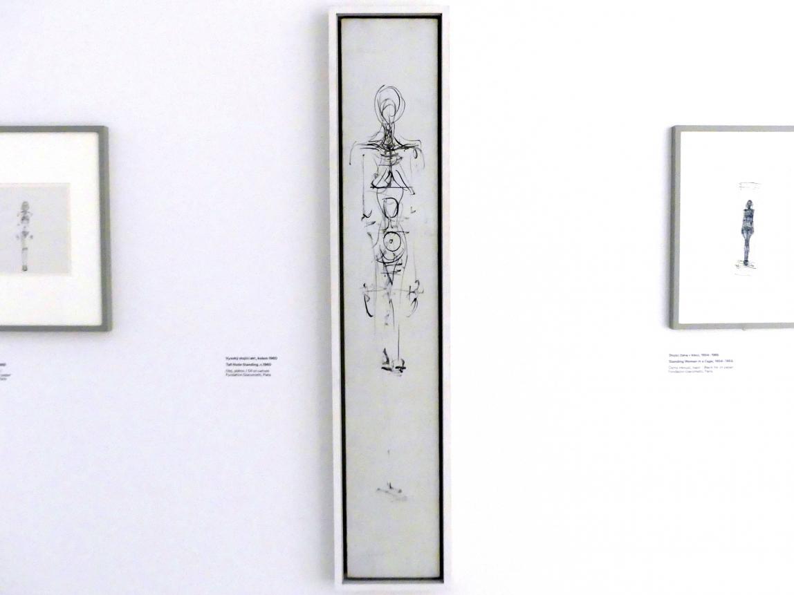 Alberto Giacometti: Großer stehender Akt, um 1960