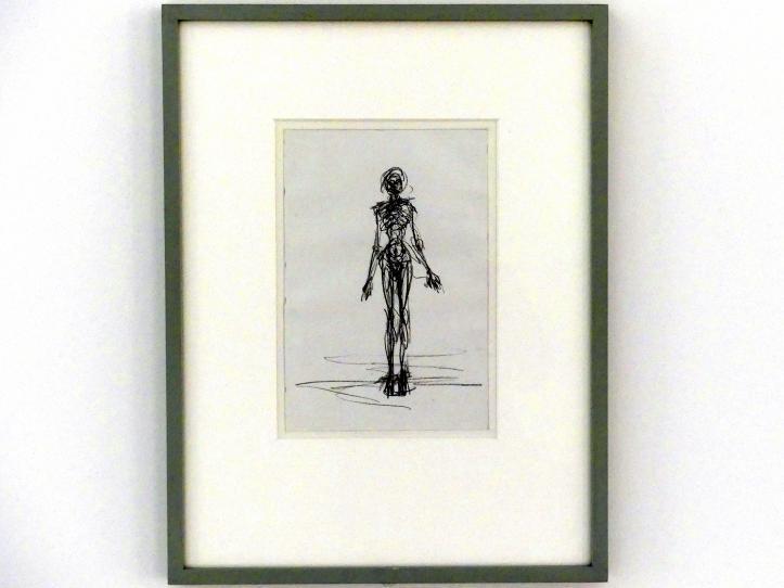 Alberto Giacometti: Stehender Akt, 1961 - 1962