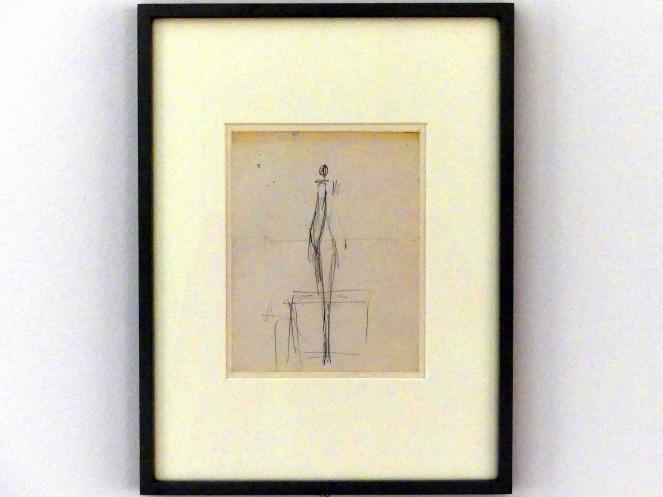 Alberto Giacometti: Stehende Frau mit Podest, Undatiert