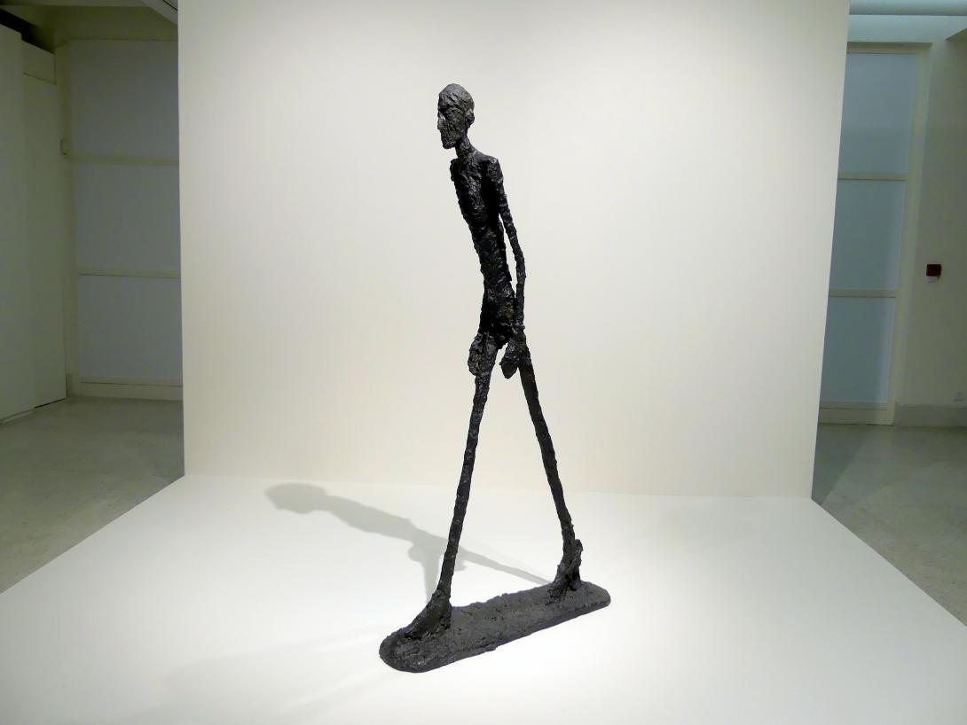 Alberto Giacometti: Schreitender I, 1960
