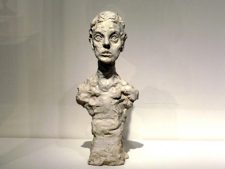 Alberto Giacometti: Büste Annette X, 1965