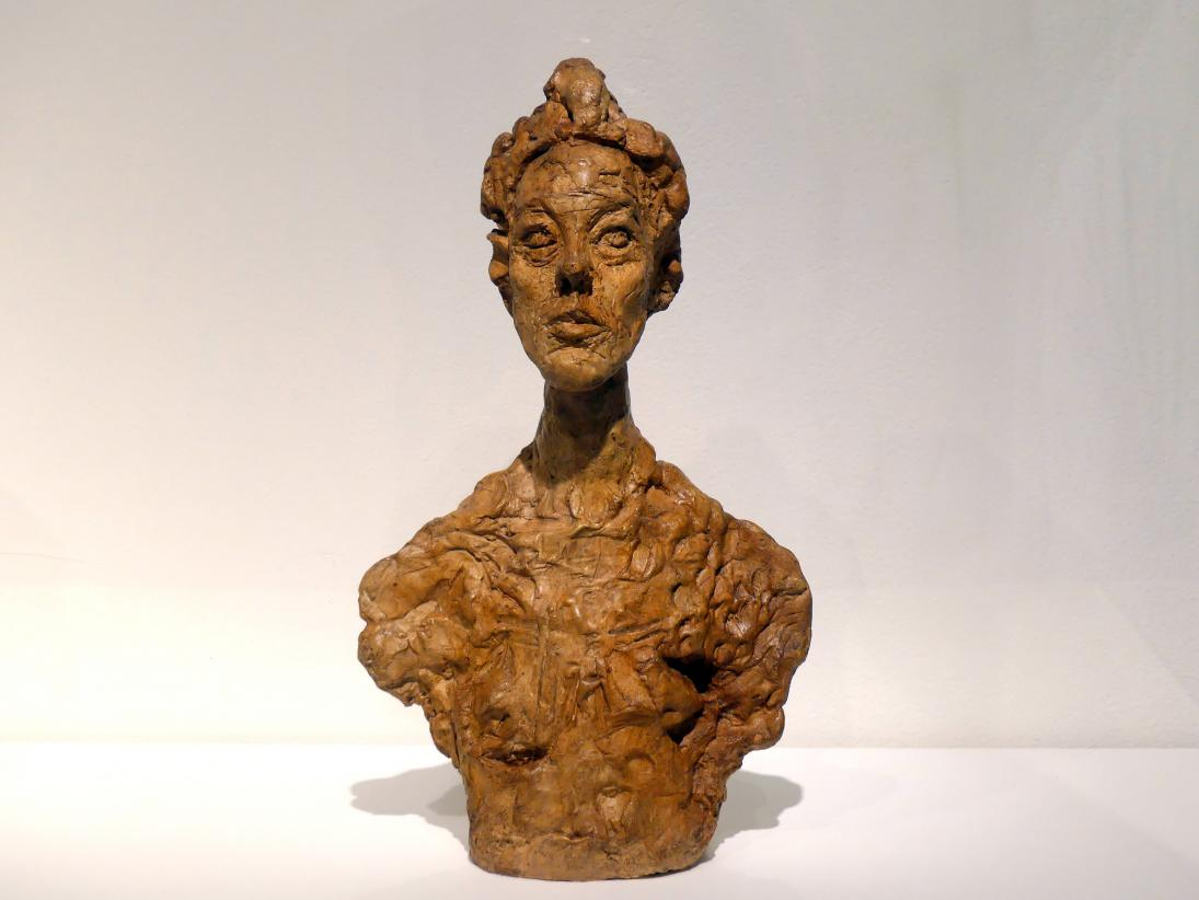 Alberto Giacometti: Büste Annette, Venedig, 1962