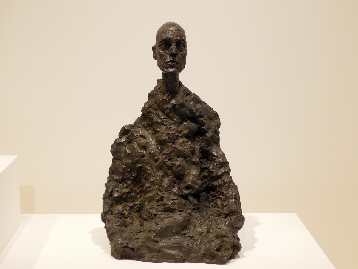 Alberto Giacometti: Kopf eines Mannes (Lotar II), 1964 - 1965