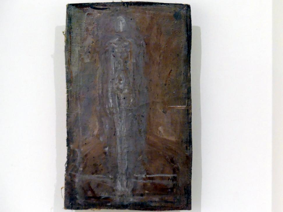 Alberto Giacometti: Stehende Frau neben Büste, 1946 - 1947