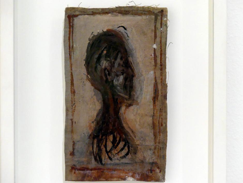 Alberto Giacometti: Kopf eines Mannes im Profil, 1946 - 1947
