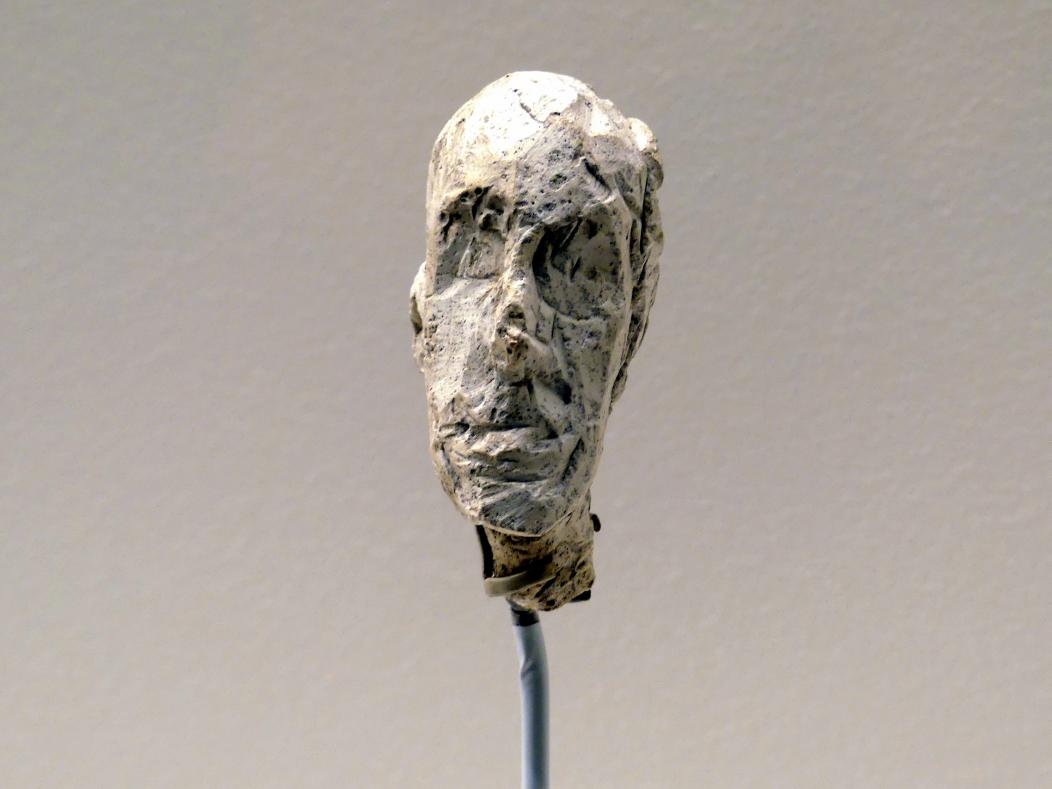 Alberto Giacometti: Kopf eines Mannes, um 1946