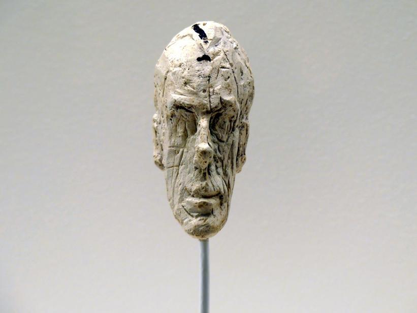 Alberto Giacometti: Kopf eines Mannes, um 1953