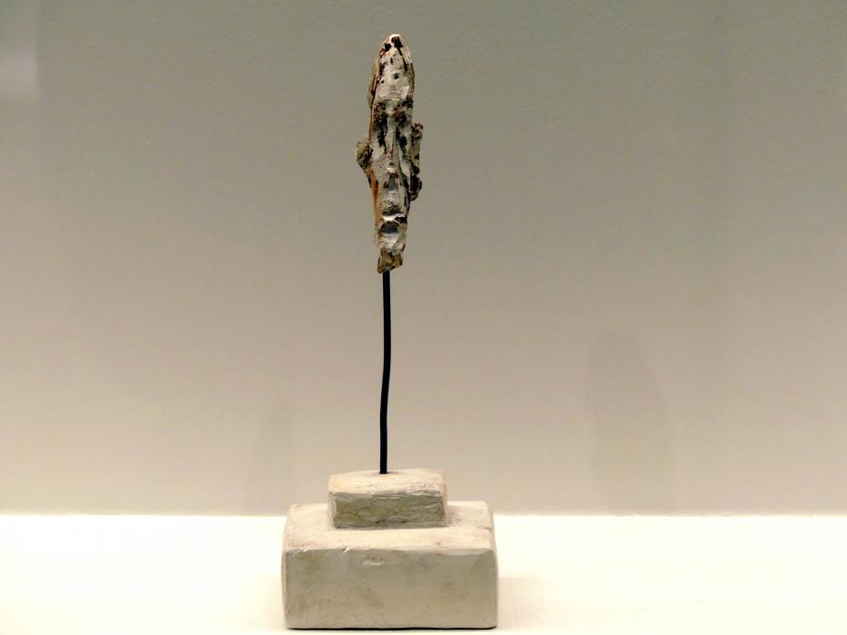 Alberto Giacometti: Kopf eines Mannes auf einem Stab, 1946 - 1948