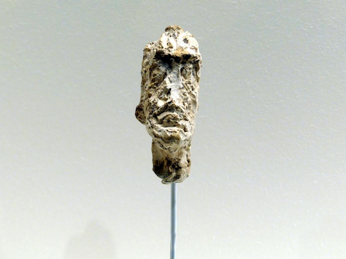 Alberto Giacometti: Kopf von Diego, um 1946