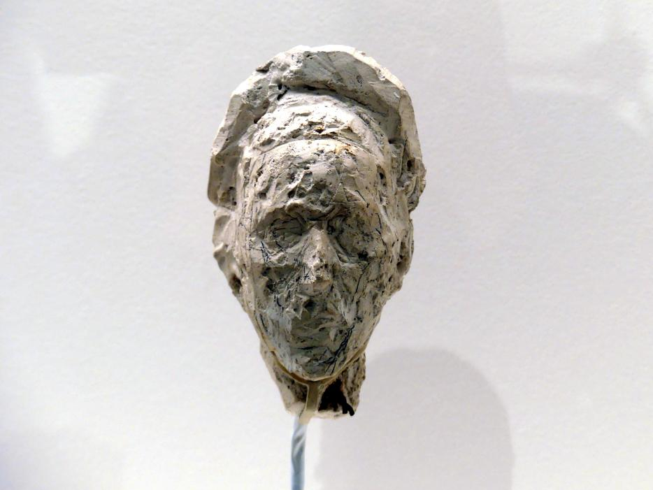 Alberto Giacometti: Kopf von Simone de Beauvoir, um 1946