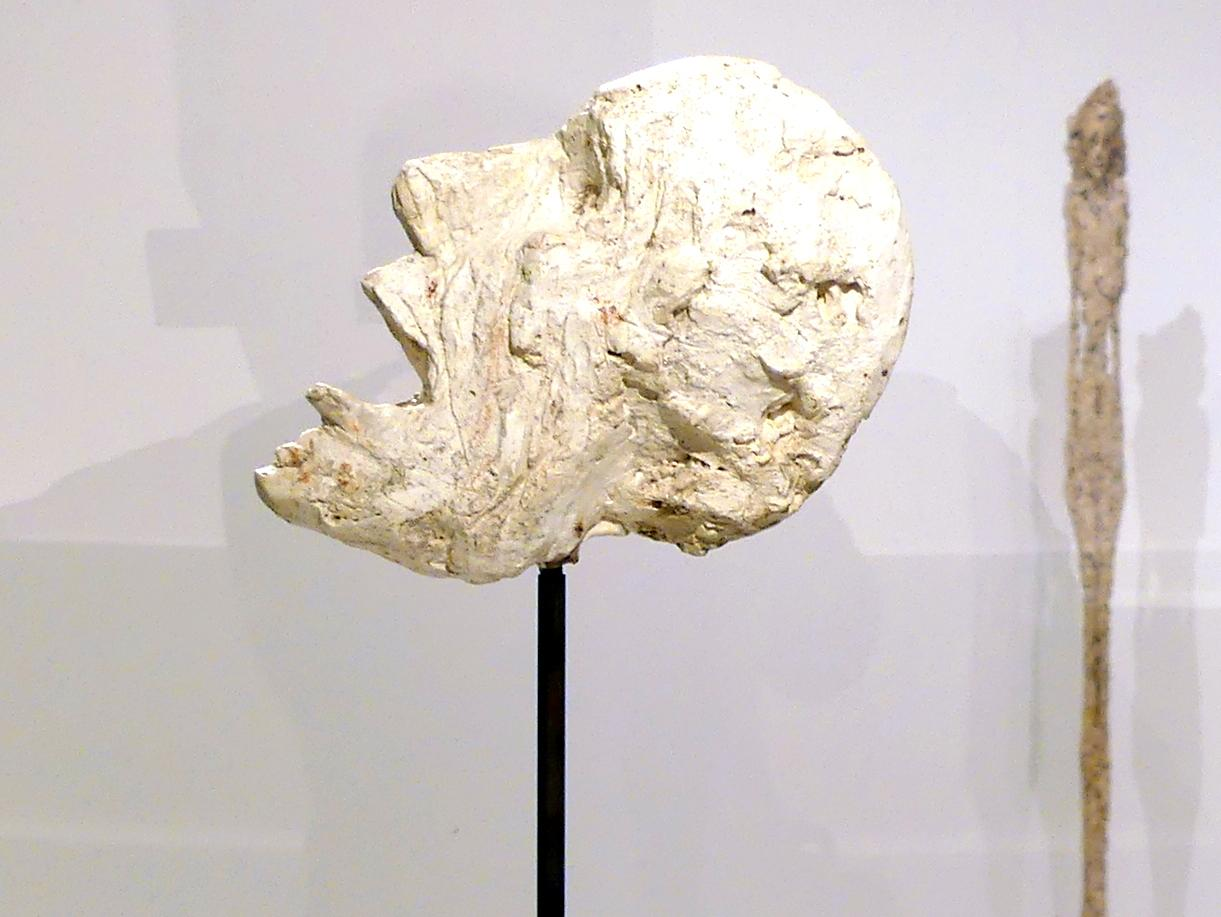 Alberto Giacometti: Kopf auf einem Stab, 1947
