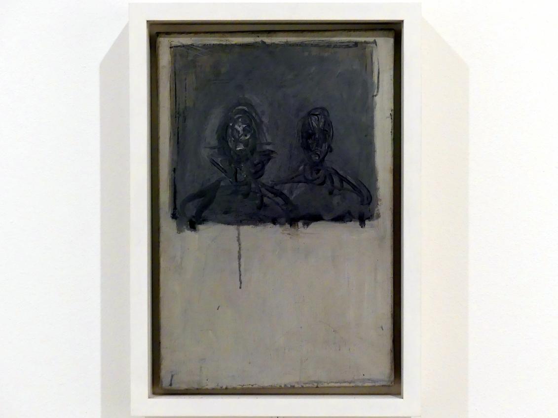 Alberto Giacometti: Studie zweier Köpfe, um 1951