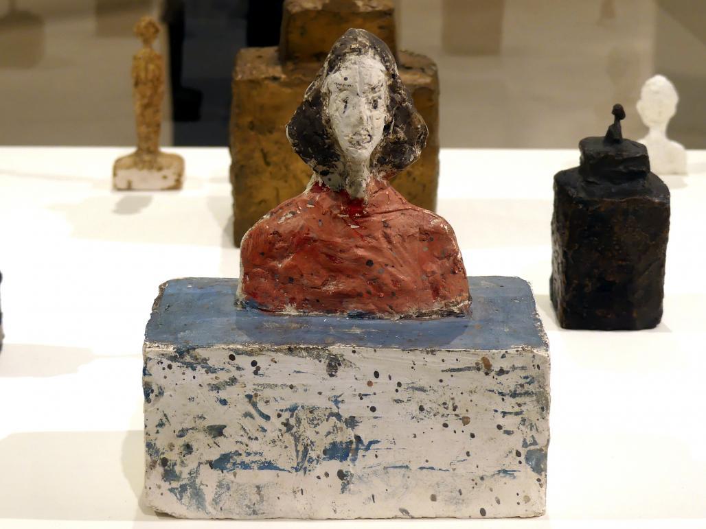 Alberto Giacometti: Kleine Büste von Annette, um 1946