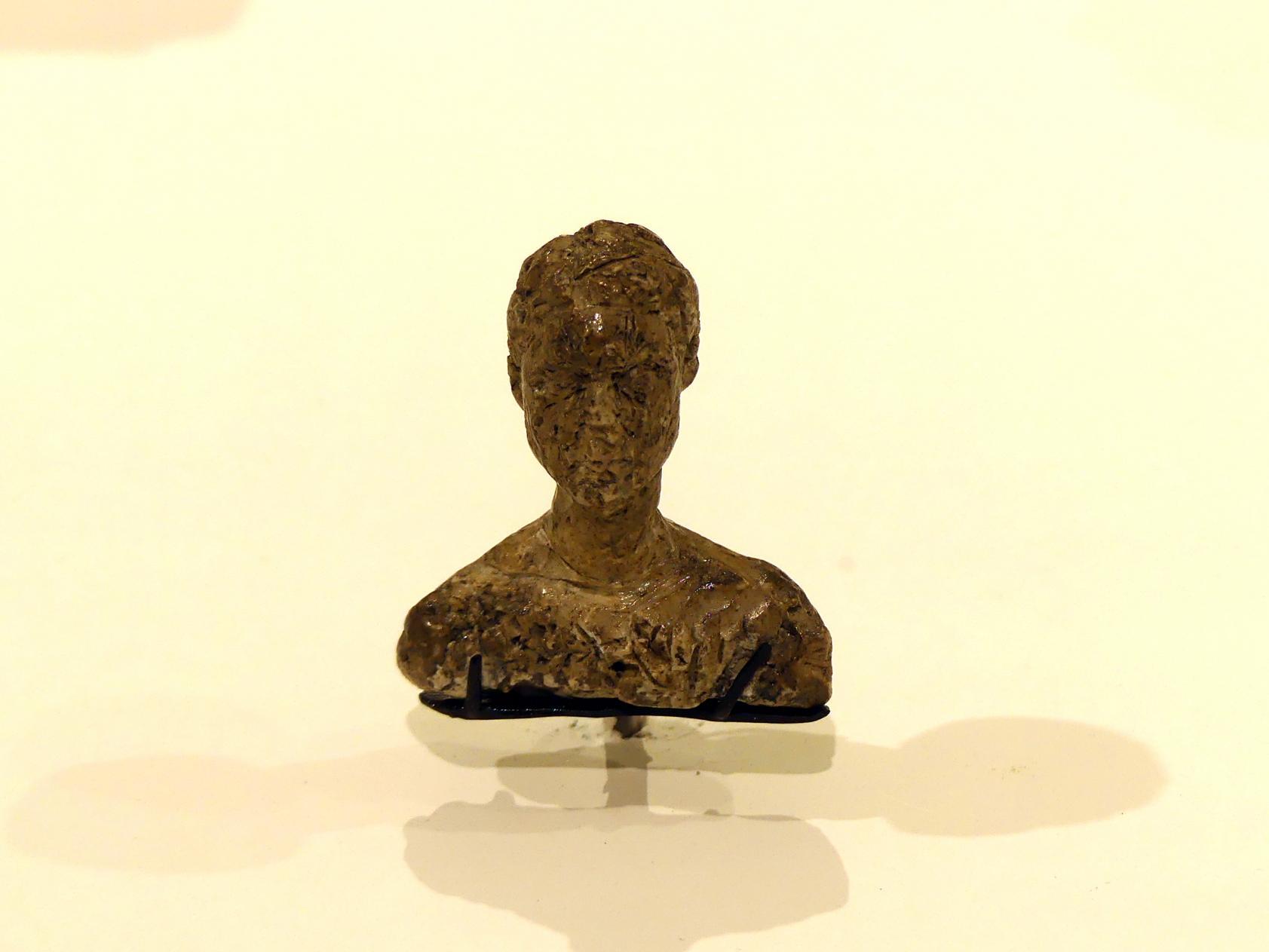 Alberto Giacometti: Sehr kleine Büste eines Mannes, 1939 - 1940
