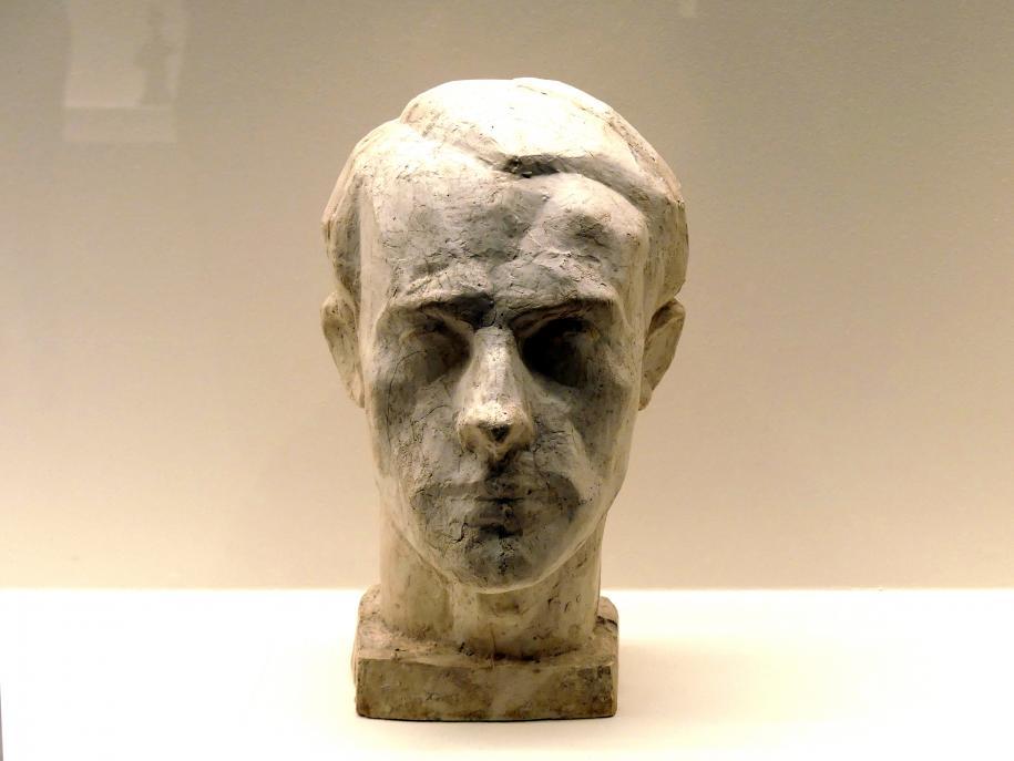 Alberto Giacometti: Kopf von Diego, um 1934