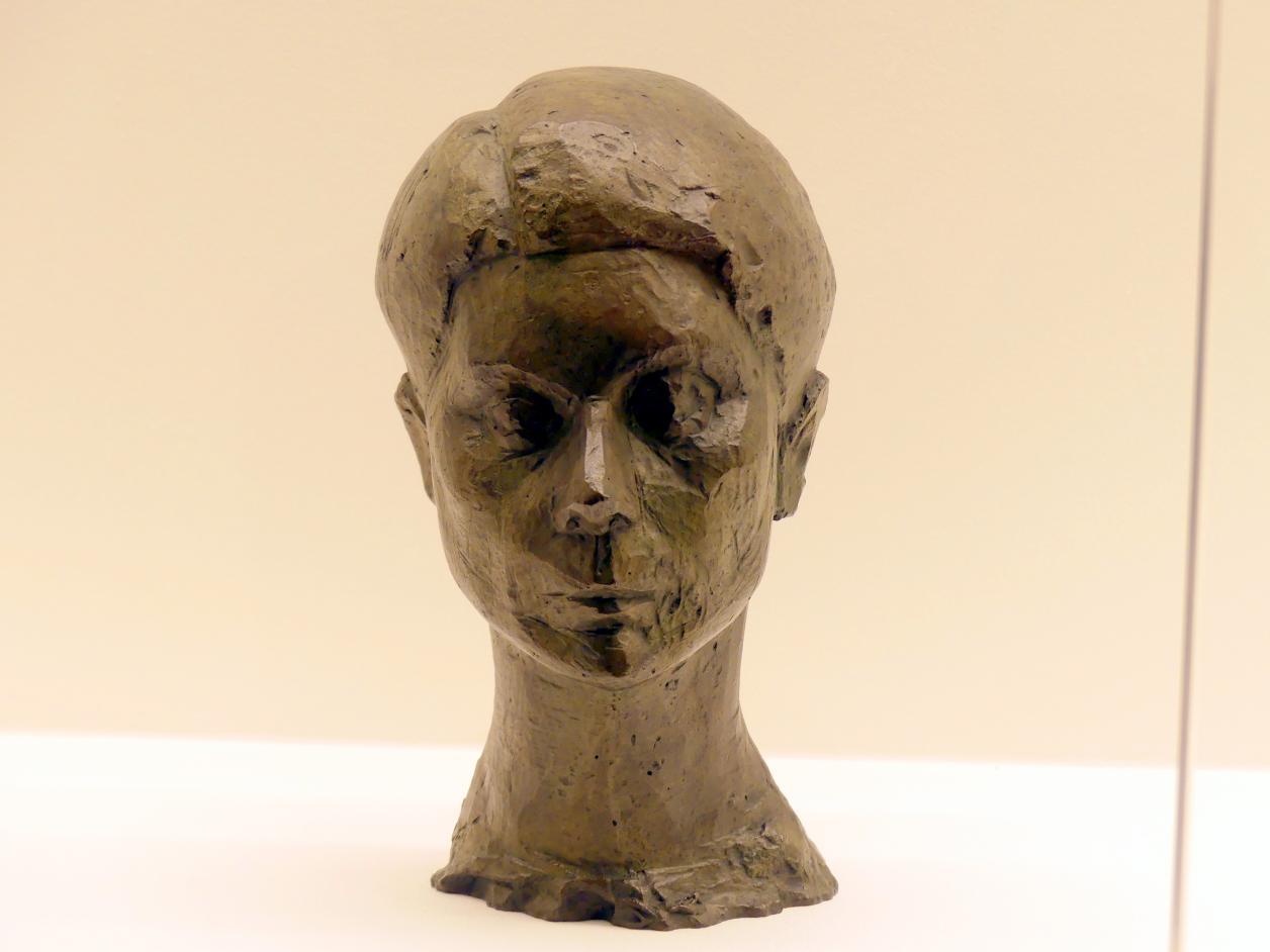 Alberto Giacometti: Kopf einer Frau (Rita), um 1936