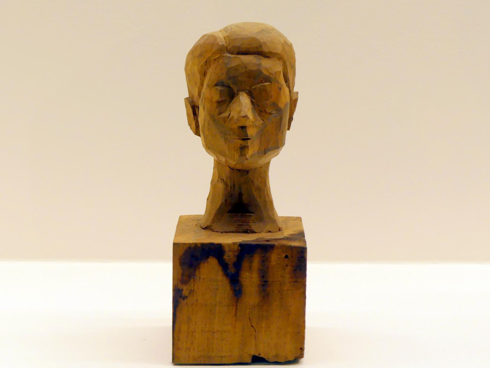 Alberto Giacometti: Kopf einer Frau (Rita), um 1935