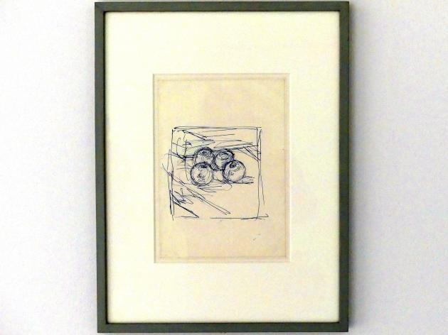 Alberto Giacometti: Vier Äpfel, nach 1950