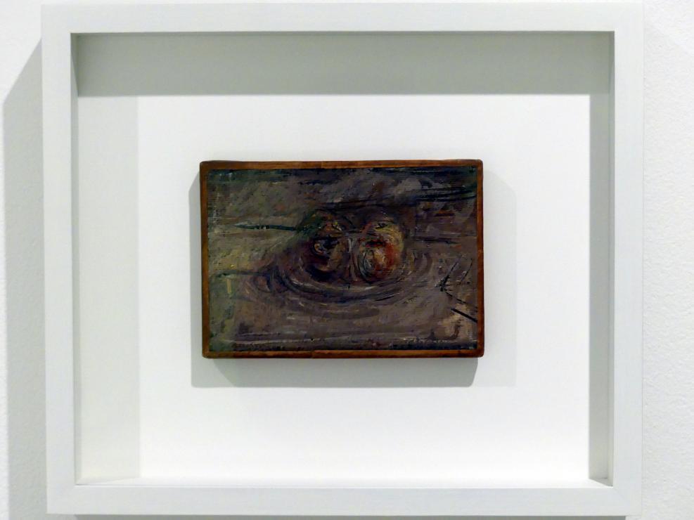 Alberto Giacometti: Vier Äpfel auf einer Schüssel, um 1953