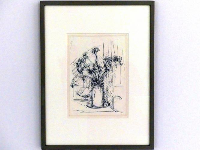 Alberto Giacometti: Blumenstrauss in einer Vase, um 1952