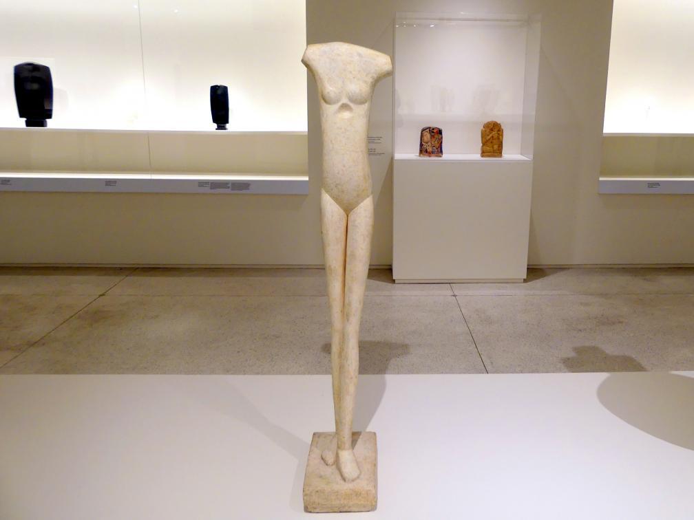 Alberto Giacometti: Schreitende Frau I, 1932