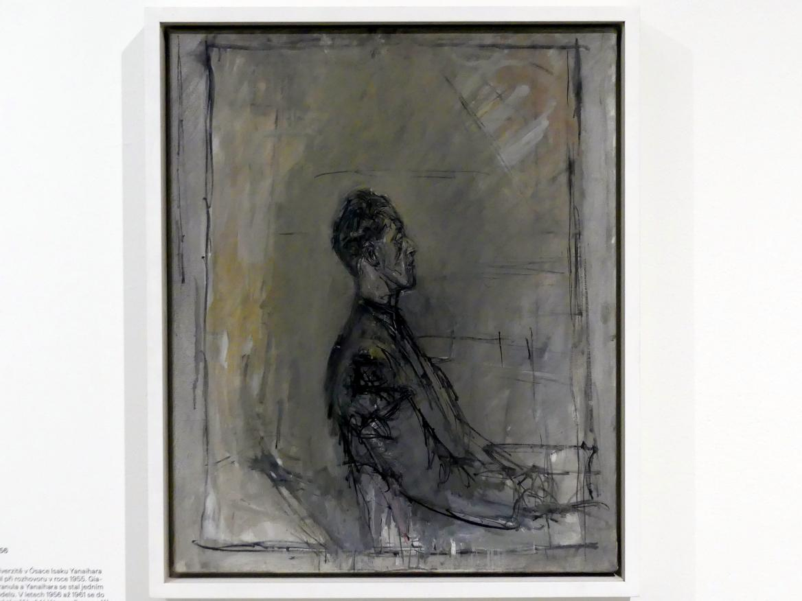 Alberto Giacometti: Isaku Yanaihara im Profil, 1956