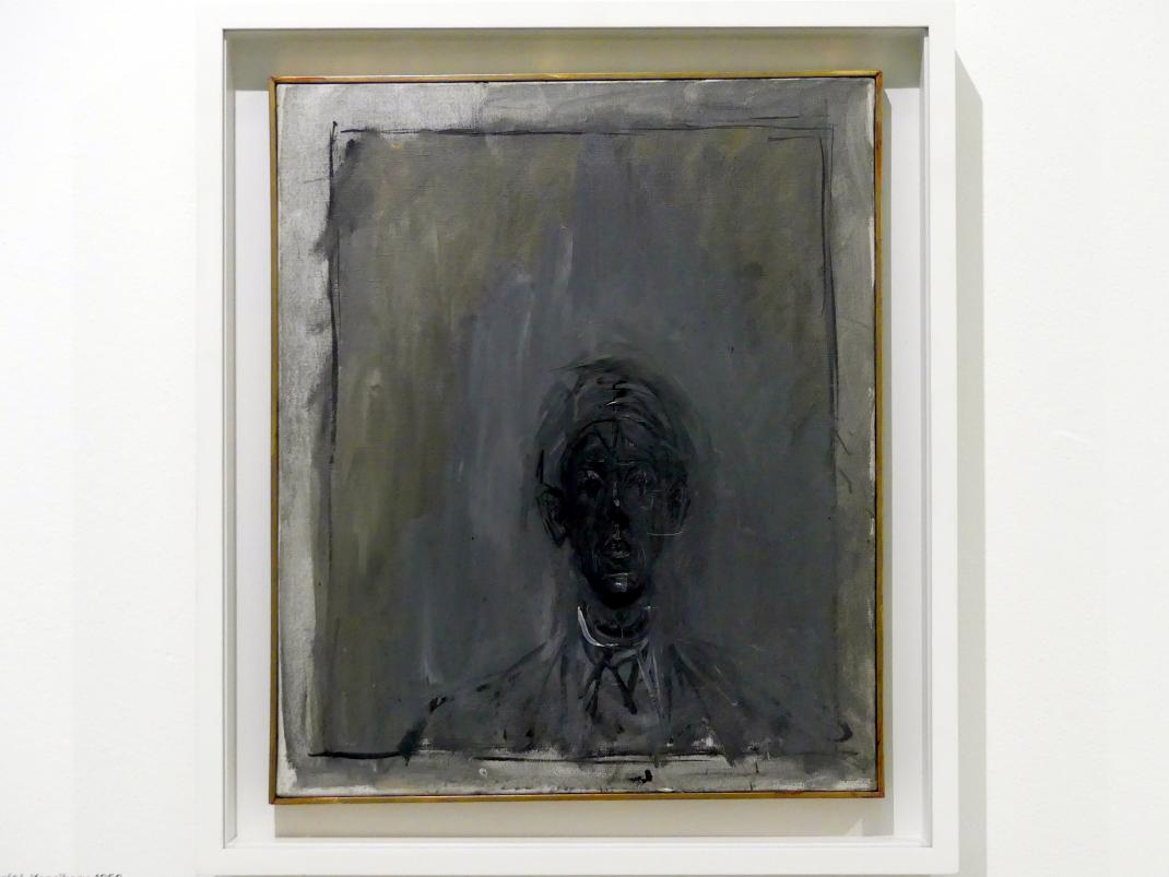 Alberto Giacometti: Porträt von Isaku Yanaihara, 1956