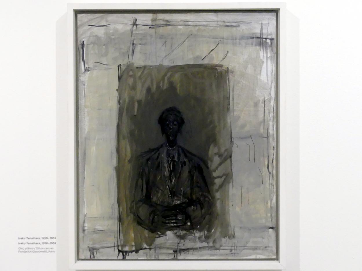 Alberto Giacometti: Isaku Yanaihara, 1956 - 1957