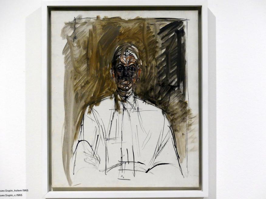 Alberto Giacometti: Jacques Dupin, um 1965