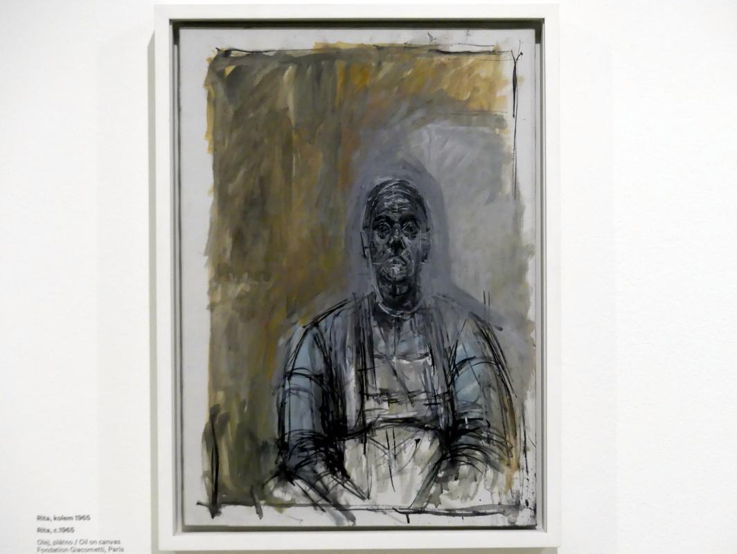 Alberto Giacometti: Rita, um 1965