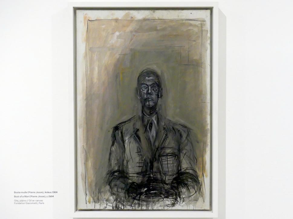 Alberto Giacometti: Büste eines Mannes (Pierre Josse), um 1964