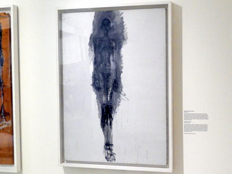 Alberto Giacometti: Stehender Akt, um 1961