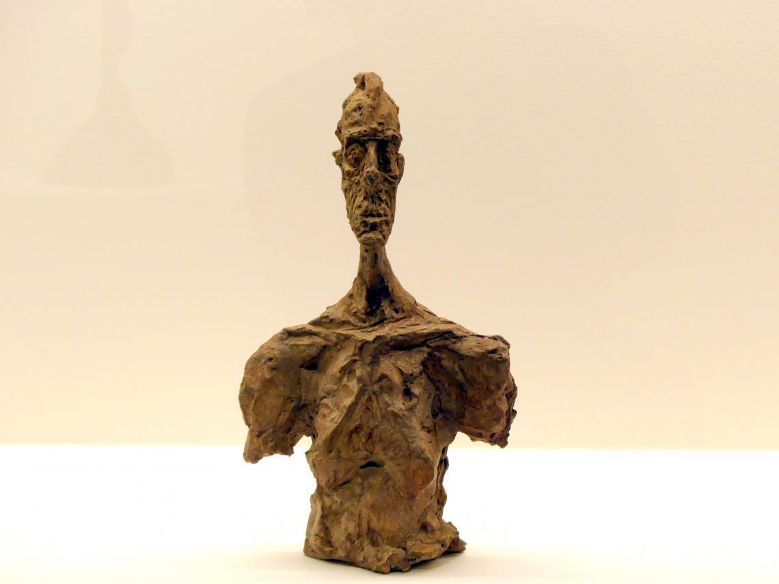 Alberto Giacometti: Büste Diego, um 1956