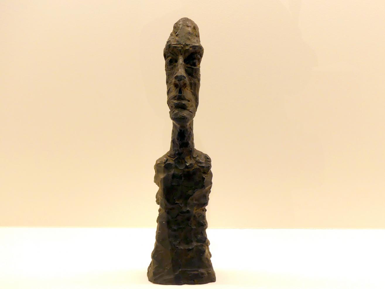 Alberto Giacometti: Kopf mit großer Nase, 1958