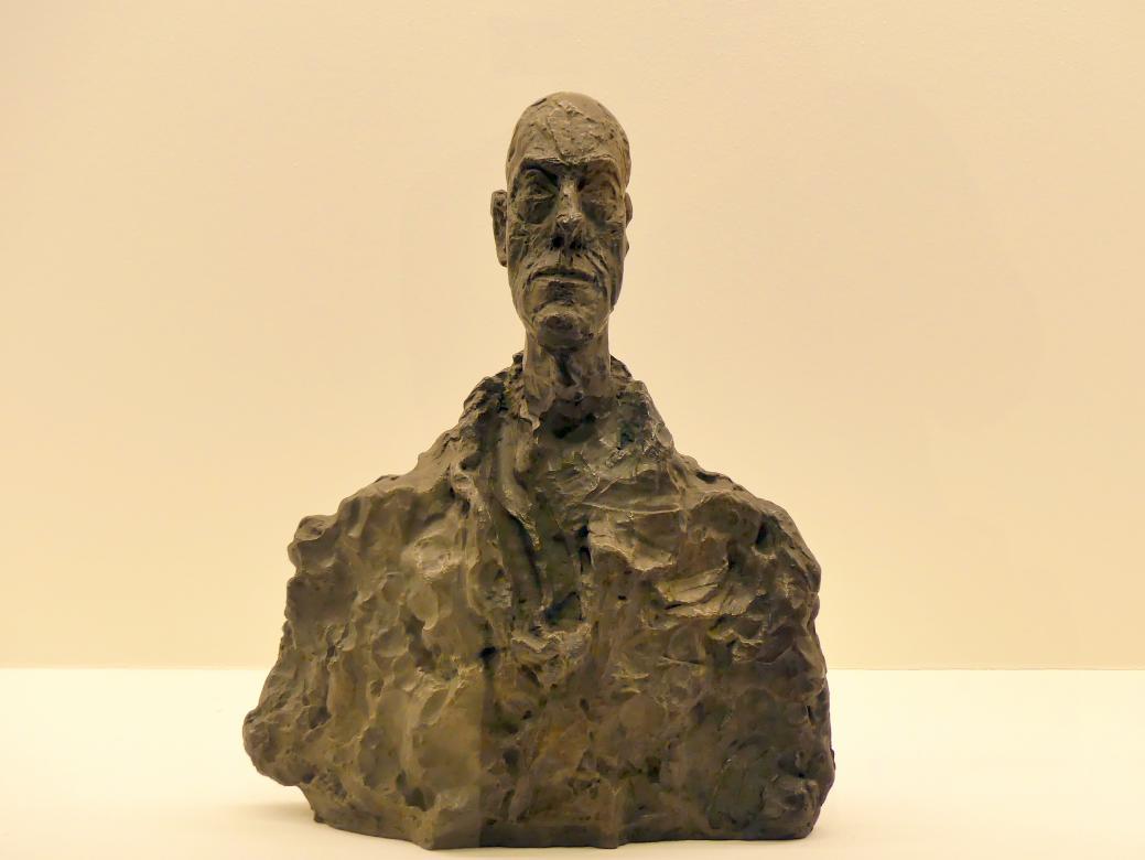 Alberto Giacometti: Büste von Diego, 1959