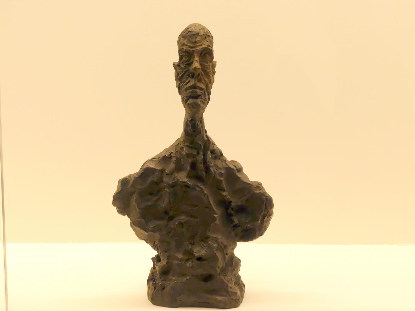 Alberto Giacometti: Büste eines Mannes, 1961