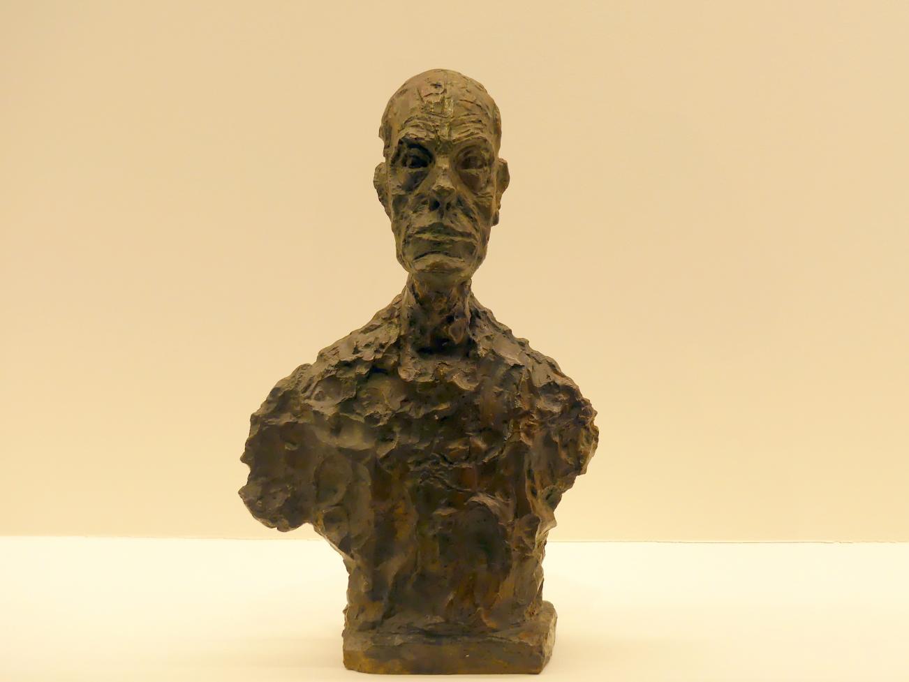 Alberto Giacometti: Büste von Diego, 1962